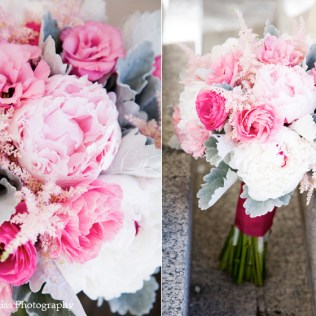 Pink And Grey Wedding Bouquets Pink And Gray Wedding Bridal