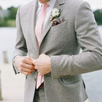 Pink Wedding Suit