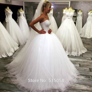 Popular Bling Bridal Gowns