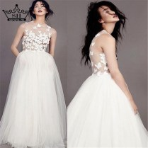 Popular Butterfly Wedding Dress