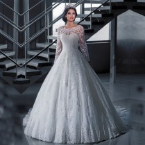 Popular Long Sleeve Winter Wedding Dresses