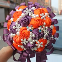 Popular Orange Bridal Flowers