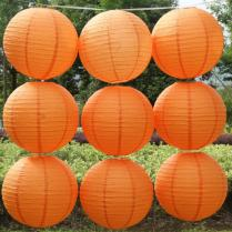 Popular Orange Wedding Decorations