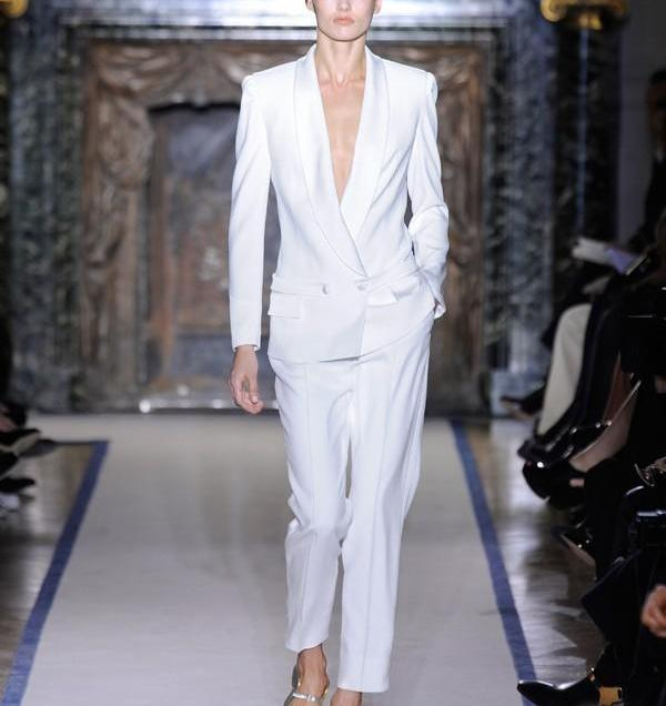 Popular White Tuxedo Women