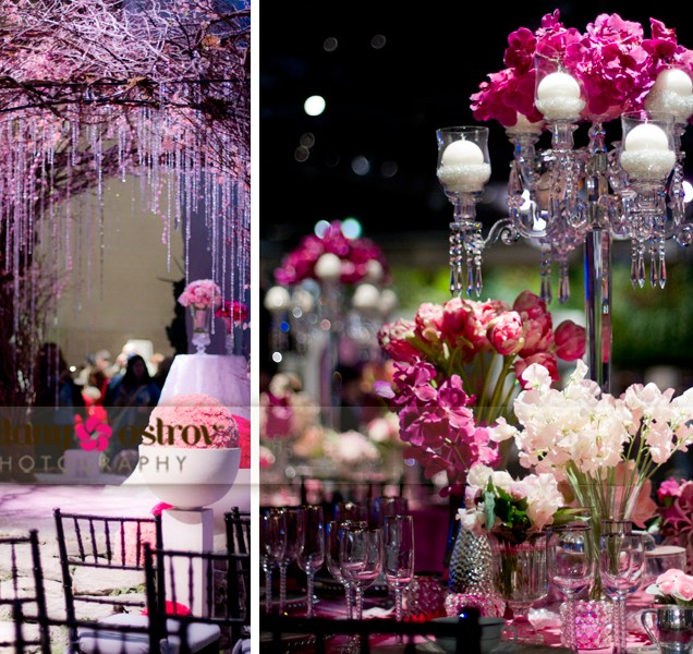 Purple And White Wedding Reception Ideas