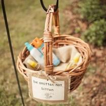 Rustic Wedding Favors 'be Smitten Not Bitten' Bug Spray For Guests