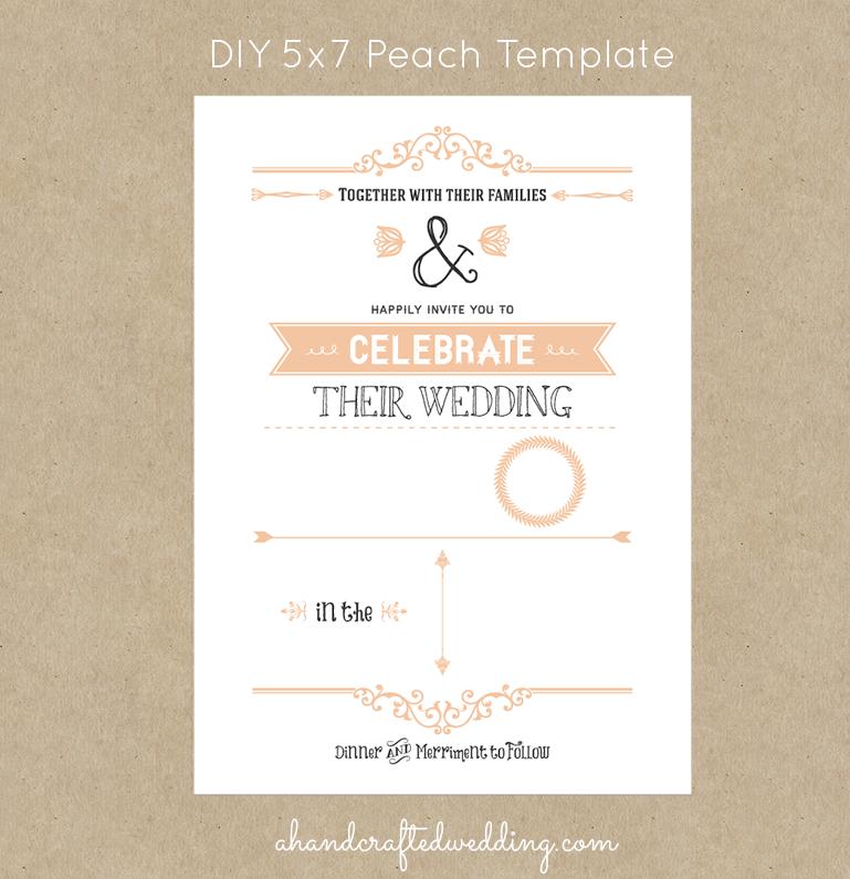 Homemade Wedding Invitation Template: Country Wedding Invitation Templates Free
