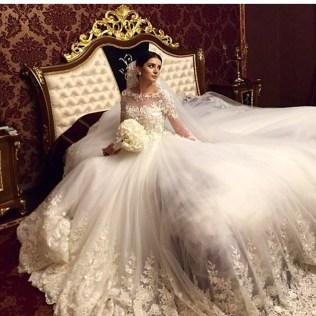 Saudi Arabian Wedding Dresses