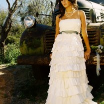 Short Country Wedding Dresses With Cowgirl Boots Wohu Country