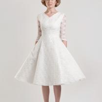 Short Simple Wedding Dresses For Mature Brides