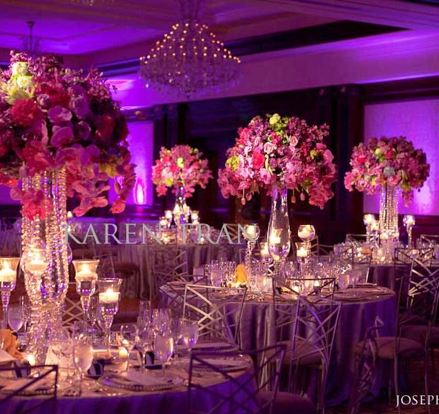 Silver Purple Wedding Colors