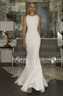 Simple White Wedding Dresses Cheap