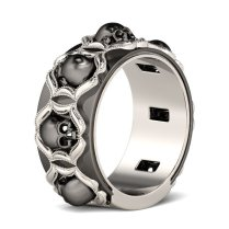 Skull Wedding Rings