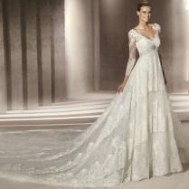 Sleeve Vintage Style Wedding Dresses