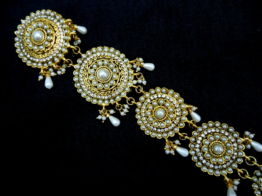 South Indian Wedding Hair Accessories