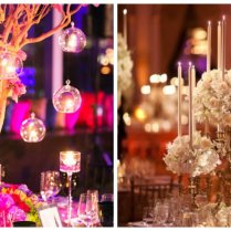 Super Glam Ideas For Your Wedding Centerpieces