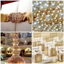 Tbdress Blog Lavish And Elegant Pearl Wedding Theme