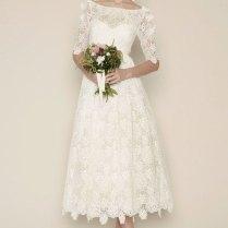 Tea Length Wedding Dresses For Classic Style