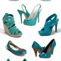 Teal Turquoise Wedding Shoes