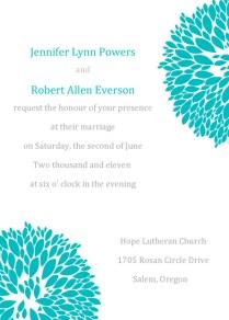 Tiffany Blue Themed Wedding Ideas And Invitations