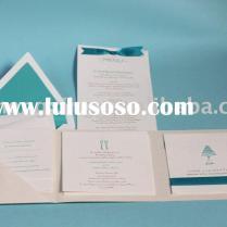 Tiffany Blue Wedding Box Invitations – Wedding Celebration Blog