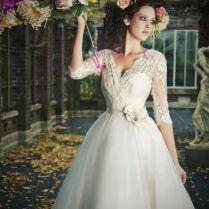 Top 40 Most Loved Tea Length Wedding Dresses