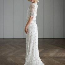 Vintage Art Nouveau Wedding Dress