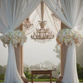 Wedding Arches – The Engagement