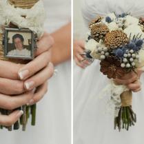Wedding Bouquets With Pine Cones Pine Cone Spruce Silk Bridal