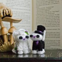 Wedding Cake Topper Bunnies – Bride And Groom