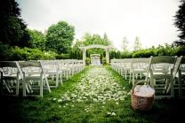 Wedding Decor Outside Wedding Decorations With Bold Colors