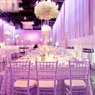 Wedding Decoration Ideas Purple And White