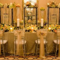 Wedding Decorations Gold Wedding Decorations And Wedding Mirror On