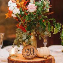 Wedding Inspiration Fall Wedding Centerpieces