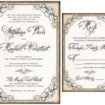 Wedding Invitation Inserts Examples