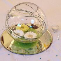 Wedding Table Decorations Fish Bowls