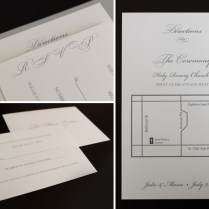 What To Put On A Wedding Invitation Insert