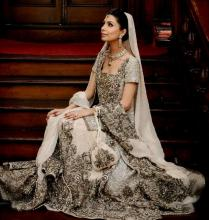 White And Gold Indian Wedding Dresses Naf Dresses