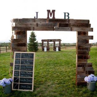 Wood Wedding Arch Plans Ana White Rustic Wedding Arch Diy