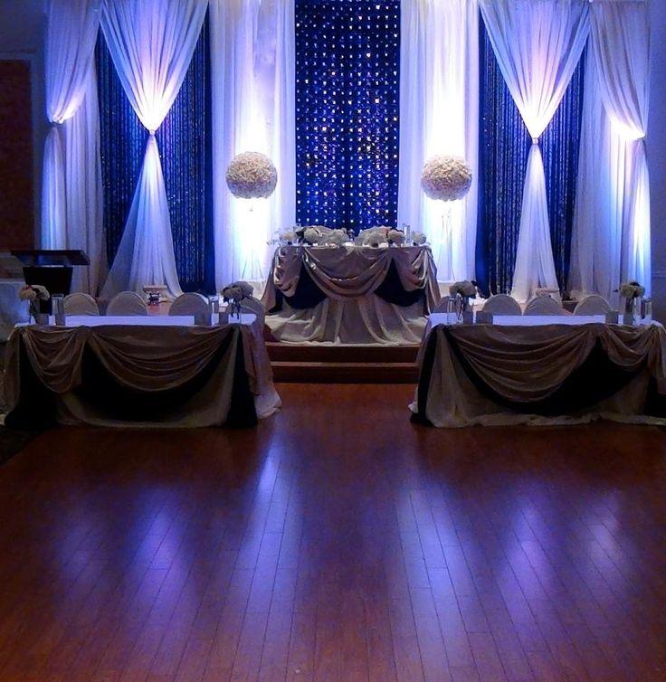 Royal Blue Wedding Decor