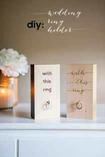 1000 Images About Wooden Wedding Ring Holders On Emasscraft Org