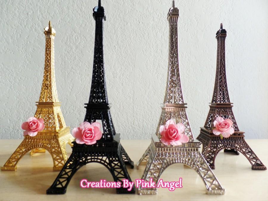 Eiffel Tower Wedding Centerpieces