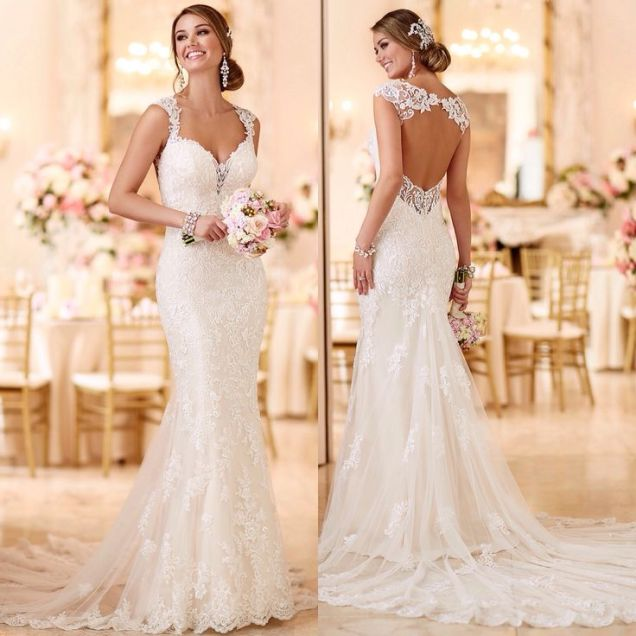 17 Best Ideas About Fitted Wedding Dresses On Emasscraft Org