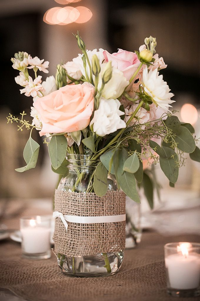 Mason Jar Centerpieces Wedding