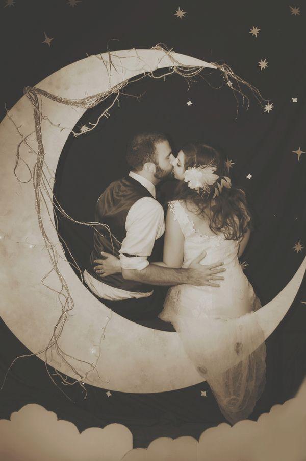 Sun And Moon Themed Wedding