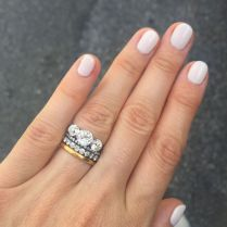 17 Best Ideas About Stacked Wedding Rings On Emasscraft Org