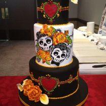 17 Best Images About Spectacular Dia De Los Muertos Cakes On