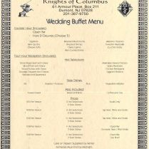 17 Best Images About Wedding Menus On Emasscraft Org