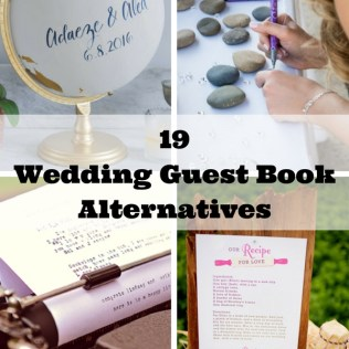 19 Wedding Guest Book Alternatives ( 10 Is Our New Favorite)