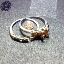 2017 Gothic Redneck Wedding Rings Picture
